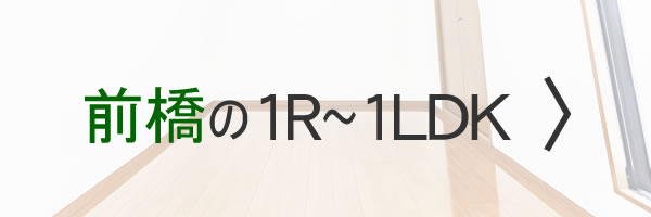 前橋の1R~1LDK