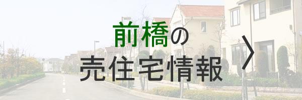 前橋の売住宅情報